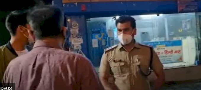 मसूरी: मास्क न पहनने के कारण पुलिसकर्मी ने रोका तो भाजपा विधायक ने क्या किया..देखें वीडियो